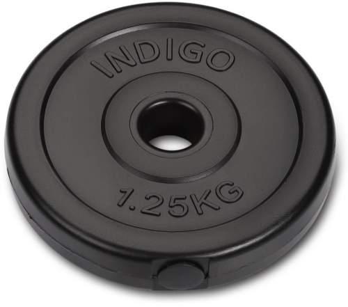 Диск пластиковый 26 мм INDIGO IN123 1,25 кг Черный