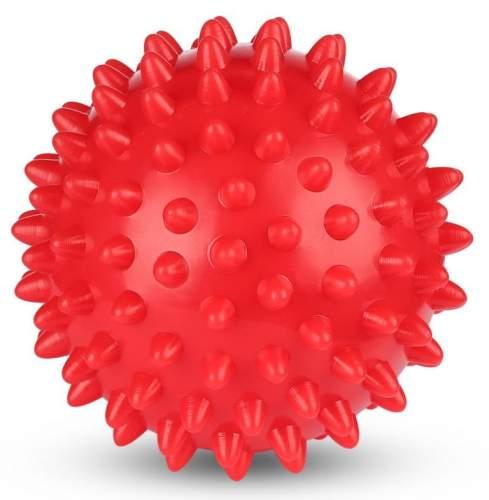 Шарик массажный INDIGO 6992-2 HKMB 9 см Красный