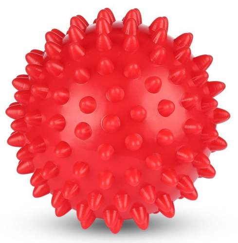 Шарик массажный INDIGO 6992-1 HKMB 7 см Красный