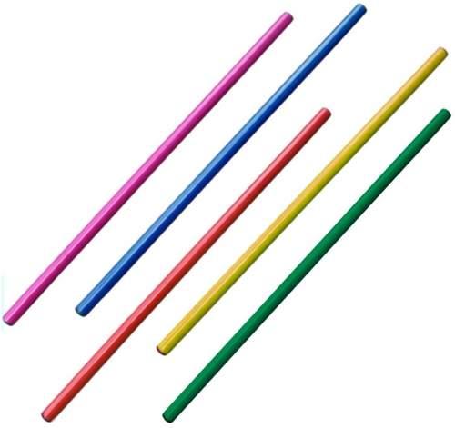 Палка гимнастическая пластмассовая KO-308 1,1 м