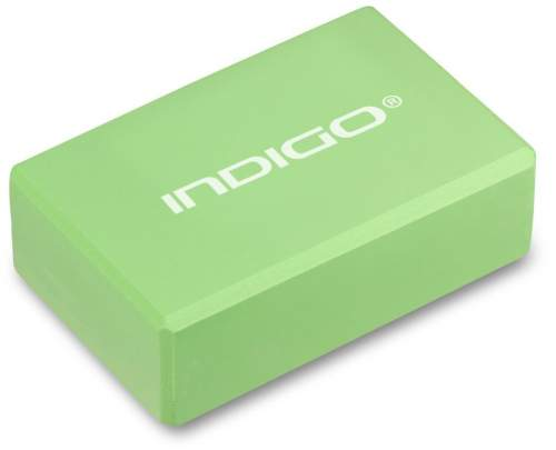 Блок для йоги INDIGO 6011 HKYB 22,8 х15,2 х7,6 см Салатовый