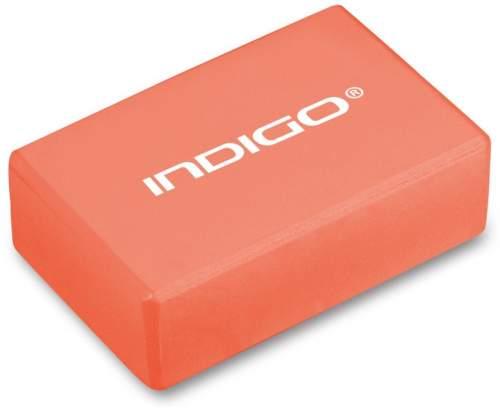 Блок для йоги INDIGO 6011 HKYB 22,8 х15,2 х7,6 см Оранжевый