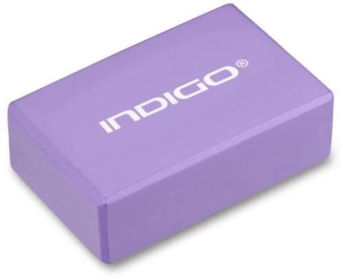 Блок для йоги INDIGO 6011 HKYB 22,8 х15,2 х7,6 см Фиолетовый