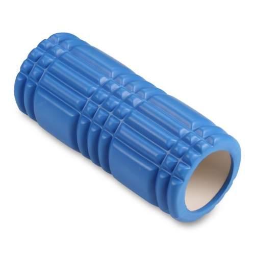 Ролик массажный для йоги INDIGO PVC IN233 33*14 см Синий