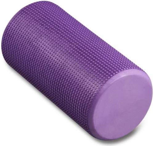 Ролик массажный для йоги INDIGO Foam roll IN045 30*15 см Фиолетовый