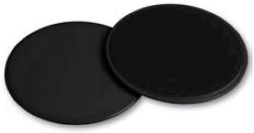 Диски для скольжения (слайдер) INDIGO IN097 17,8 см Черный