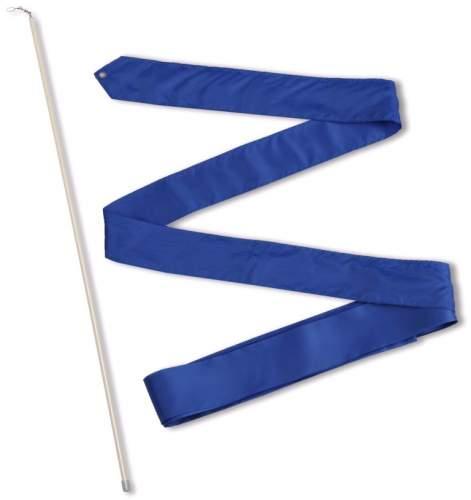 Лента гимнастическая с палочкой 56 см СЕ6 6,0 м Васильковый