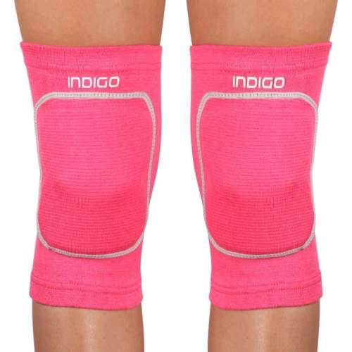 Наколенник для гимнастики и танцев INDIGO удлиненный IN211 M Розовый