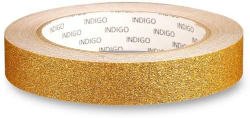 Обмотка для обруча с подкладкой INDIGO BLESK IN138 20мм*14м Золото