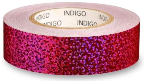 Обмотка для обруча с подкладкой INDIGO CRYSTAL IN139 20мм*14м Розовый