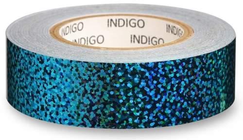 Обмотка для обруча с подкладкой INDIGO CRYSTAL IN139 20мм*14м Голубой