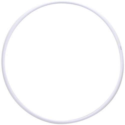 Обруч гимнастический пластиковый(аналог Сасаки) 270 г KO-307 900 мм Белый