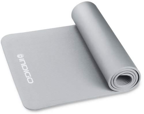 Коврик для йоги и фитнеса INDIGO NBR IN194 173*61*1,5 см Серый