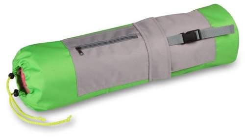 Чехол для коврика с карманами SM-369 69*18 см Салатово-серый