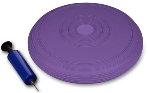 Диск балансировочный INDIGO Равновесие с насосом IN173 33 см Фиолетовый
