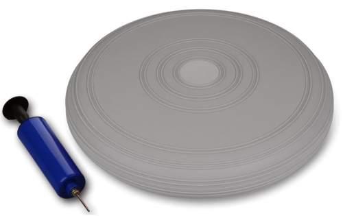 Диск балансировочный INDIGO Равновесие с насосом IN173 33 см Серый