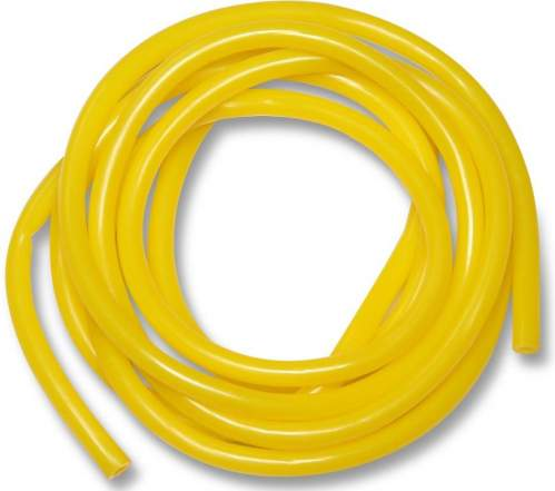 Эспандер трубка латексная INDIGO LIGHT (2-6 кг) SM-074 3м*9мм Желтый