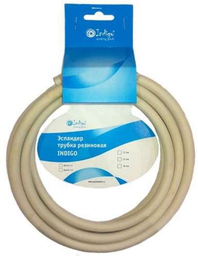 Эспандер трубка резиновая INDIGO SM-076 5м*15мм Серый
