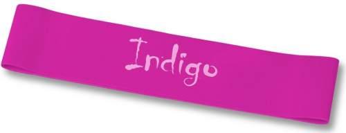 Эспандер Лента латекс замкнутая INDIGO MEDIUM (2-7 кг) 6004-2 HKRB 46*5*0.05см Цикламеновый