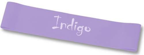 Эспандер Лента латекс замкнутая INDIGO LIGHT (2-5 кг) 6004-1 HKRB 46*5*0.035см Сиреневый