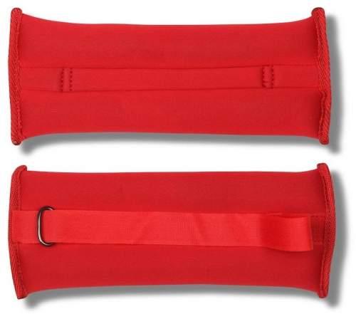 Утяжелители Неопреновые SM-259 2*0,4 кг Красный