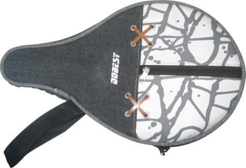 Чехол для ракетки настольного тенниса DOBEST с карманом для шариков 09B-BB Черный