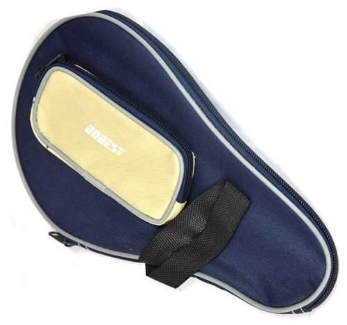 Чехол для ракетки настольного тенниса DOBEST с карманом для шариков 09A-BB Синий
