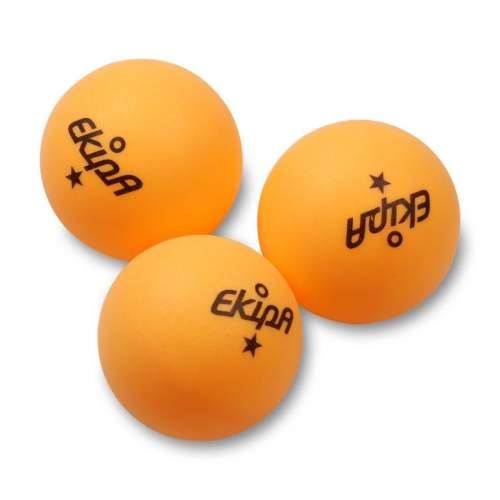 Шарики для настольного тенниса EKIPA 1 звезда 3шт EP01 40 мм Желтый