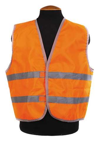 Жилет сигнальный детский Спортивные Мастерские SM-017 32-34 (2-5 лет) Оранжевый