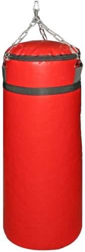 Мешок боксерский SM 25кг на цепи (армированный PVC) SM-235 25 кг Красный