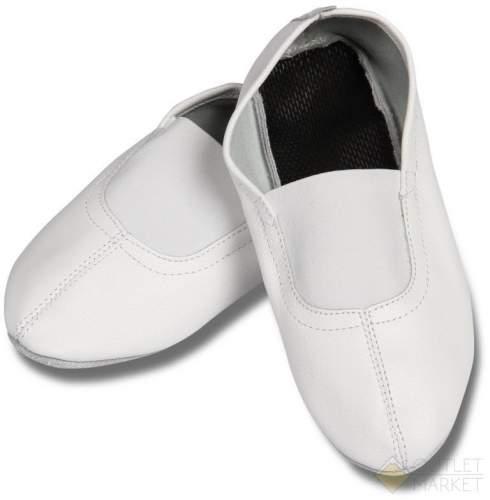 Чешки кожаные с мягкой стелькой GS101 29 Белый