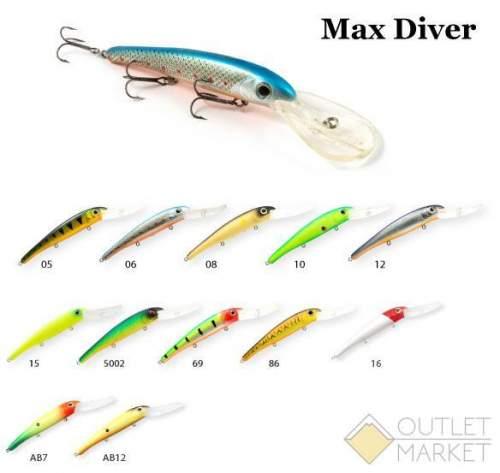 Воблер Raiden Max Diver 120 21 гр.