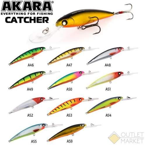 Воблер Akara Catcher 100F 14гр. (1/2 oz 3,9 in)