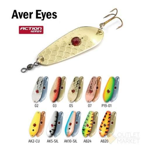 Блесна колеблющаяся Akara Action Series Aver Eyes 90 21 гр
