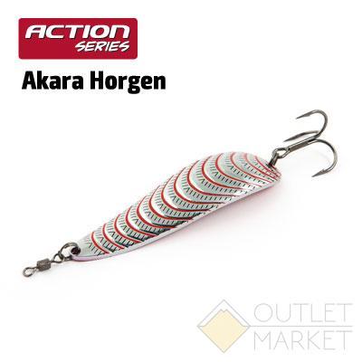 Блесна колеблющаяся Akara Action Series Horgen 85 30 гр