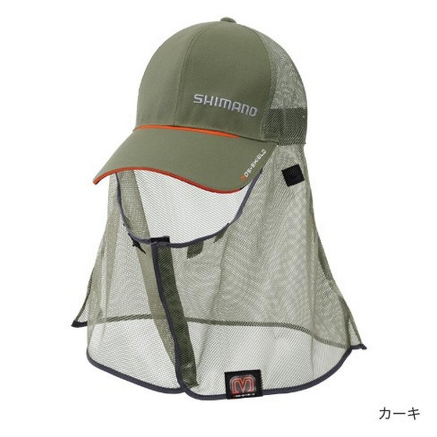 Кепка Shimano Mos-Shield CA-002N Цв. Зелёная р-р. REGULAR (58 см) 5YCA002N1F