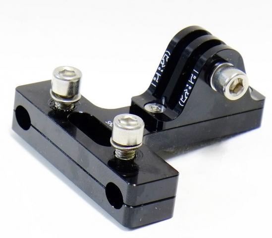 Крепление экшен-камер на рамки седла, черный PRAC0074