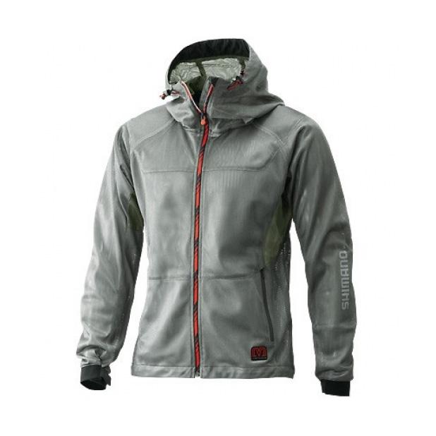 Куртка MS Mesh Parka JA-006N Серебро 5YJA006N16
