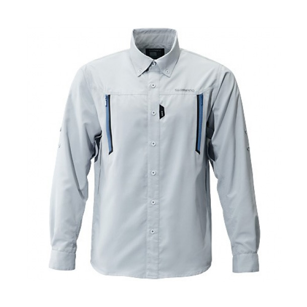 Рубашка SHIMANO AIRVENTI Fishing Shirts SH-099N Серый 5YSH099N1C