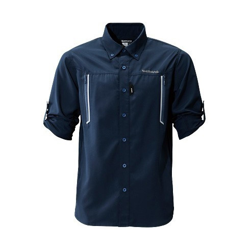 Рубашка SHIMANO AIRVENTI Fishing Shirts SH-099N Синий 5YSH099N2C