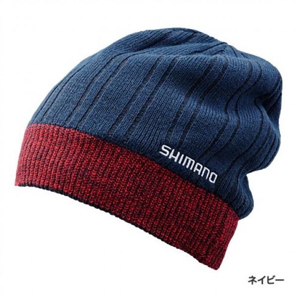 Шапка Shimano BREATH HYPER CA064NNV Fleece Knit Watch Cap Синяя