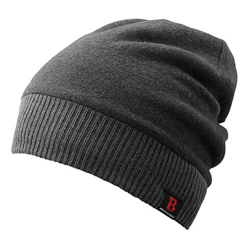 Шапка Shimano BREATH HYPER CA064NGY Fleece Knit Watch Cap Серая 5YCA064N3F