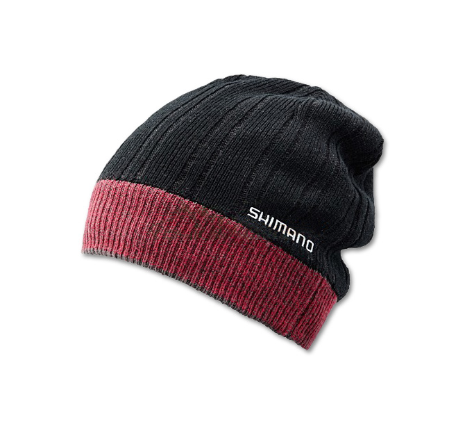 Шапка Shimano BREATH HYPER CA064NBK Fleece Knit Watch Cap Черная 5YCA064N1F