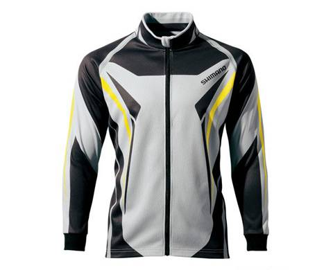 Кофта Shimano Warm Shirt SH-091M Белая 5YSH091M3C