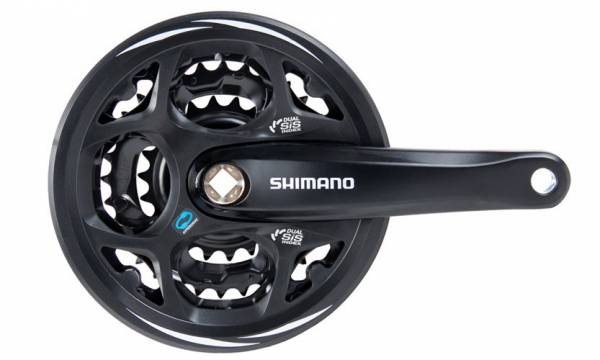 Система Shimano Altus M311 175мм Квадрат 42/32/22T защита черная