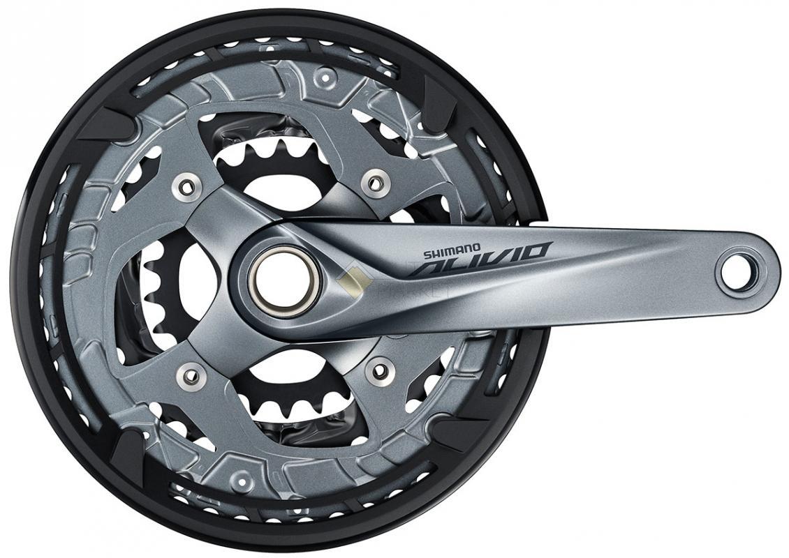 Система Shimano Alivio M4060 9 скоростей 175мм Интегрированный вал 48/36/26T EFCM4060EX866X