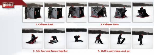 Палатка рыболовная зимняя RAPALA RS-SM3I