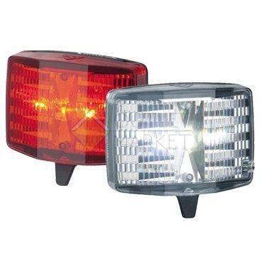 Комплект фонарей TOPEAK HighLite Combo Aura  (WhiteLite Aura и RedLite Aura Combo)
