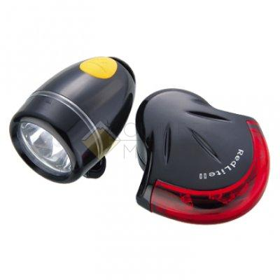 Комплект фонарей TOPEAK HighLite Combo II WhiteLite II + RedLite II чёрный TMS037