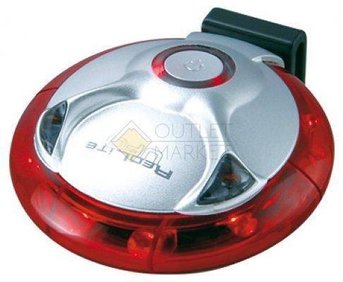 Задний фонарь TOPEAK RedLite UFO  2 батарейки типа N, 1,5 вольта